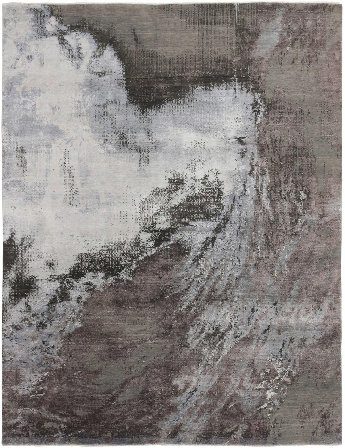 szary dywan ekskluzywny 3d Seduction 840232