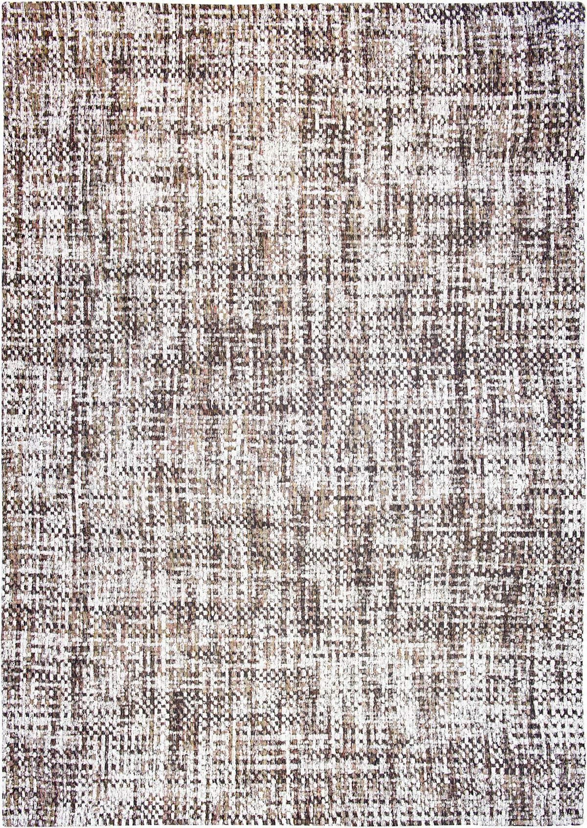 szary dywan w kratke CLOUD & SUN 8891