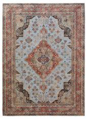 czerwono szary klasyczny dywan vintage Bidjar 54005
