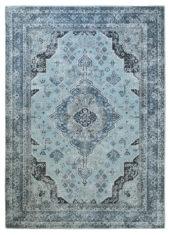 niebieski klasyczny dywan vintage Bidjar 54008