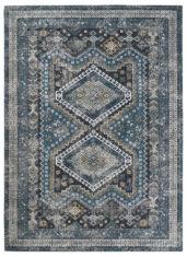 niebiesko szary klasyczny dywan vintage Kashmir 54108