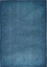 Niebieski Nowoczesny Dywan Laccetti Mare 9024