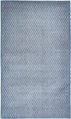 Niebiesko SzaryNowoczesny Dywan Rombo Blu Grigio 9036
