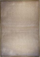 Zloty dywan nowoczesny CUBETTI BEIGE BRILLANTE 9031