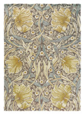 beżowo Żółty dywan w kwiaty Pimpernel Bullrush 28808 - widok z góry