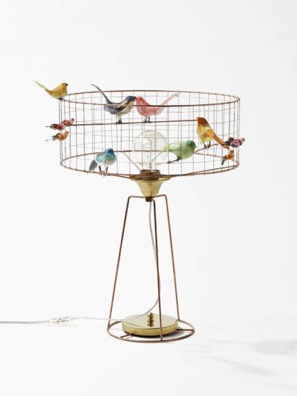 lampa ptaki