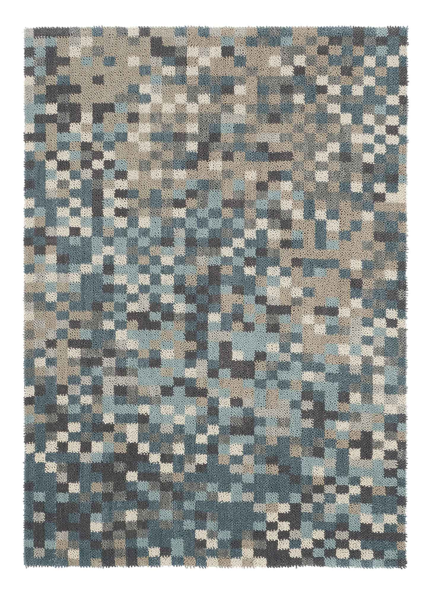 ręcznie tkany nowoczesny dywan