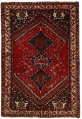Czerwony Dywan Perski - KASHGHAI 427375 - widok z góry