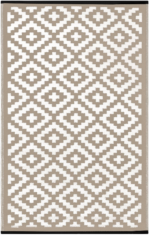 PLASTIC NIRVANA TAUPE / WHITE