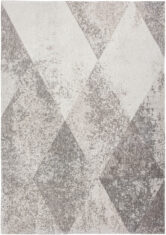 beżowy dywan geometryczny lisboa raw topaz 9054 płasko