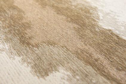 Beżowy Dywan Abstrakcyjny LINARES WHITE 9058 detal rzeka