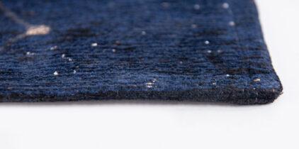 granatowy nowoczesny dywan midnight blue 9060 perspektywa