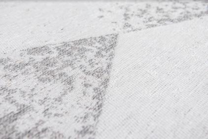 beżowy dywan geometryczny lisboa raw topaz 9054 perspektywa