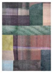 drukowany dywan geometryczny FIESTA SUAVE 8449 plaski
