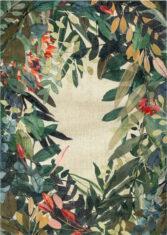 drukowany kwiatowy dywan ESTIVAL CALIENTE 8446