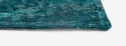 niebieski dywan geometryczny lisboa saphir blue 9052 perspektywa