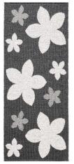 FLOWER BLACK 11414