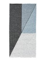 STRIPE BLACK BLUE 13403 widok z gory