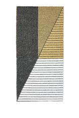STRIPE BLACK YELLOW 13404 widok z gory
