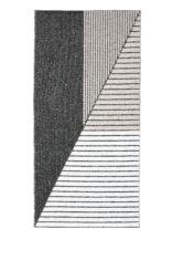 STRIPE BLACK PINK 13407 widok z gory