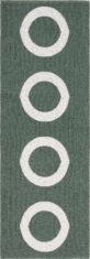 CIRCUS DARK GREEN 15188 widok z gory