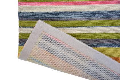 Kolorowy Nowoczesny Dywan w Paski - LA VIDA 476801.