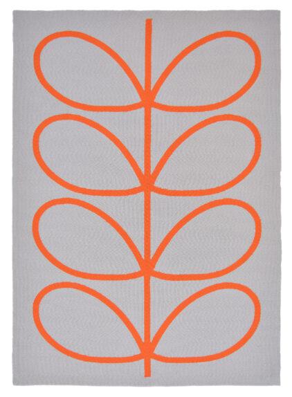 Szary Dywan w Liście - Giant Linear Stem Persimmon 46703
