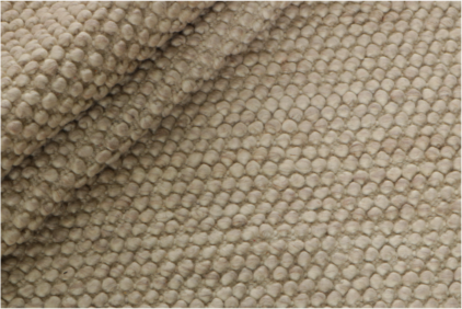 Beżowy Dywan Pleciony - BUBBLES BEIGE R-1902 - struktura