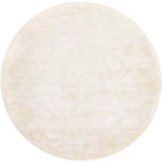 Okrągły Beżowy Dywan Gładki - NORTHERN LIGHT ECRU ROUND 7025 - widok z góry