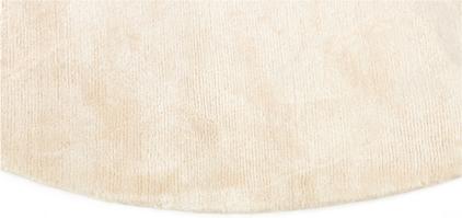 Okrągły Beżowy Dywan Gładki - NORTHERN LIGHT ECRU ROUND 7025 - brzeg