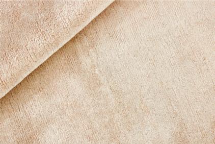 Okrągły beżowy dywan gładki- NORTHERN LIGHT SAND ROUND 7024 - struktura