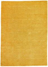 Żółty Dywan Wełniany - PANORAMA UNI GOLD - widok z góry