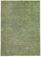 Zielony Dywan Wełniany - PANORAMA UNI GREEN - widok z góry