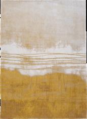 Żółto biały dywan - FUJI GOLD 9154 - widok z góry