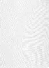Biały dywan geometryczny w szare linie - SAN ANDREAS WHITE GREY 9172 - widok z góry