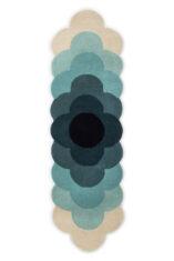 Niebieski Chodnik - OPTICAL FLOW TEAL 061207 widok z góry