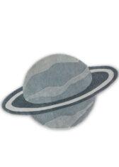 dywanik dzieciecy planeta DECOR KIDS PLANET 141508 widok z góry