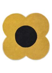 Dywan Żółty Kwiatek - FLOWER SUNSHINE 061306 widok z góry